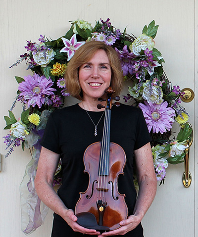 Jill Foster from Jolie Deux Violin Duo in Richmond, Va
