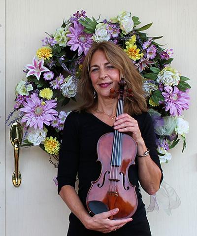 Margie Heath from Jolie Deux Violin Duo in Richmond, Va